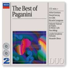 Niccolo Paganini (1782-1840): Violinkonzerte Nr.1-4, 2 CDs