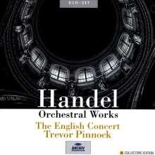 Georg Friedrich Händel (1685-1759): Orchesterwerke, 6 CDs