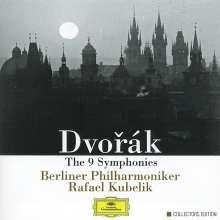 Antonin Dvorak (1841-1904): Symphonien Nr.1-9, 6 CDs