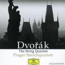 Antonin Dvorak (1841-1904): Streichquartette Nr.1-14, 9 CDs