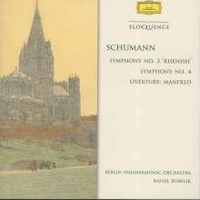 Robert Schumann (1810-1856): Symphonien Nr.3 & 4, CD