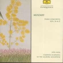 Wolfgang Amadeus Mozart (1756-1791): Klavierkonzerte Nr.26 & 27, CD