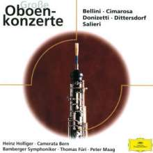 Heinz Holliger spielt virtuose Oboenkonzerte, CD