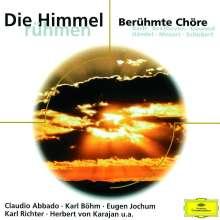 Die Himmel rühmen - Berühmte Chöre, CD