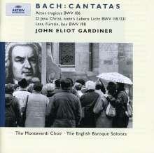 Johann Sebastian Bach (1685-1750): Kantaten BWV 106,118,198, CD