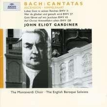 Johann Sebastian Bach (1685-1750): Kantaten BWV 11,37,43,128, CD