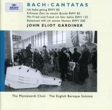 Johann Sebastian Bach (1685-1750): Kantaten BWV 82,83,125,200, CD