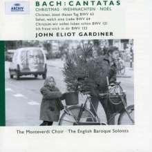 Johann Sebastian Bach (1685-1750): Kantaten BWV 63,64,121,133, CD