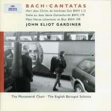 Johann Sebastian Bach (1685-1750): Kantaten BWV 113,179,199, CD