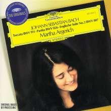 Johann Sebastian Bach (1685-1750): Englische Suite BWV 807, CD