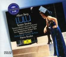 Alban Berg (1885-1935): Lulu, 3 CDs