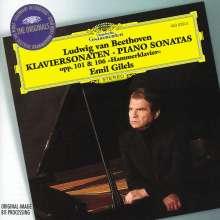 Ludwig van Beethoven (1770-1827): Klaviersonaten Nr.28 & 29, CD