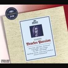 Georg Friedrich Händel (1685-1759): Passion nach Brockes, 3 CDs