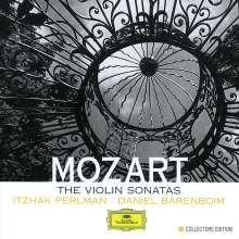 Wolfgang Amadeus Mozart (1756-1791): Sonaten für Violine & Klavier, 4 CDs