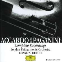 Niccolo Paganini (1782-1840): Violinkonzerte Nr.1-6, 6 CDs
