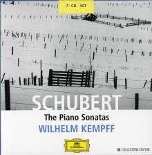Franz Schubert (1797-1828): Klaviersonaten (Ges.-Aufn.), 7 CDs