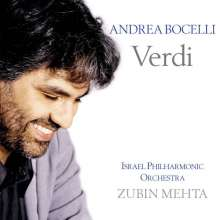 Andrea Bocelli singt Verdi-Arien, CD