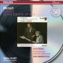 Wolfgang Amadeus Mozart (1756-1791): Klavierkonzerte Nr.20 & 24, CD