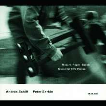 Andras Schiff & Peter Serkin - Musik für 2 Klaviere, 2 CDs
