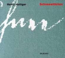 Heinz Holliger (geb. 1939): Schneewittchen, 2 CDs