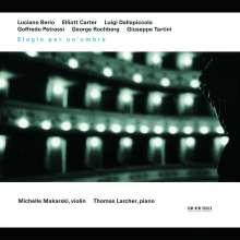 Michelle Makarski - Elogio per un' ombra, CD