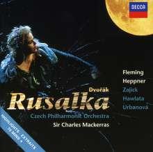 Antonin Dvorak (1841-1904): Rusalka (Ausz.), CD