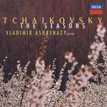 Peter Iljitsch Tschaikowsky (1840-1893): Die Jahreszeiten op.37b (Fassung für Klavier), CD