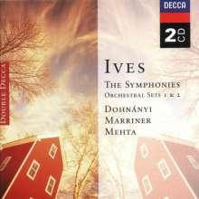 Charles Ives (1874-1954): Symphonien Nr.1-4, 2 CDs