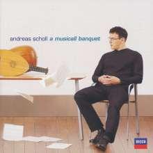 Andreas Scholl - A Musicall Banquet, CD