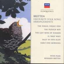 Benjamin Britten (1913-1976): Folk Song Arrangements, CD