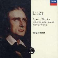 Franz Liszt (1811-1886): Klavierwerke, 9 CDs