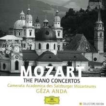 Wolfgang Amadeus Mozart (1756-1791): Sämtliche Klavierkonzerte, 8 CDs