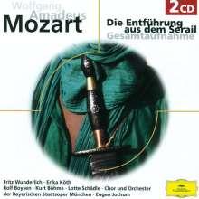 Wolfgang Amadeus Mozart (1756-1791): Die Entführung aus dem Serail, 2 CDs