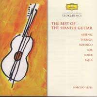 Narciso Yepes - Malaguena (Spanish Guitar Music), CD