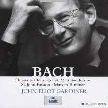 Johann Sebastian Bach (1685-1750): John Eliot Gardiner dirigiert die großen geistlichen Werke, 9 CDs