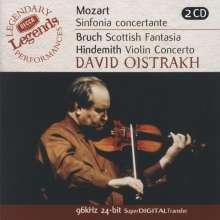 Paul Hindemith (1895-1963): Violinkonzert (1939), 2 CDs