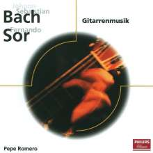 Pepe Romero spielt Bach & Sor, CD