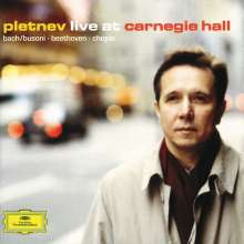 Mikhail Pletnev - Live at Carnegie Hall, CD