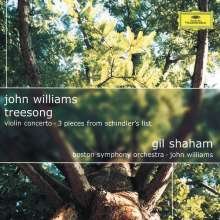 John Williams (geb. 1932): Treesong für Violine & Orchester, CD