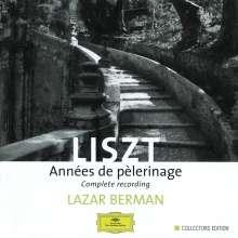 Franz Liszt (1811-1886): Annees de Pelerinage (Gesamtaufnahme), 3 CDs