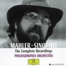Gustav Mahler (1860-1911): Symphonien Nr.1-10, 15 CDs