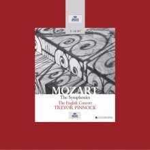 Wolfgang Amadeus Mozart (1756-1791): Symphonien Nr.1-41, 11 CDs
