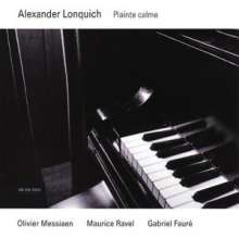 Alexander Lonquich - Plainte Calme, CD