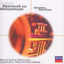Festliche Bläsermusik zur Weihnacht - Christmas goes Brass, CD