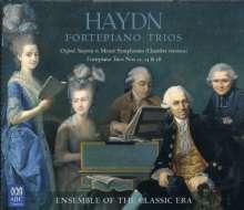 Joseph Haydn (1732-1809): Klaviertrios H.15 Nr.12,14,18, 2 CDs