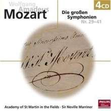 Wolfgang Amadeus Mozart (1756-1791): Symphonien Nr.29-36,38-41, 4 CDs