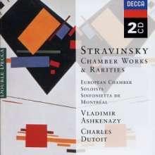 Igor Strawinsky (1882-1971): L'Histoire du Soldat-Suite, 2 CDs