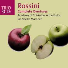 Gioacchino Rossini (1792-1868): Sämtliche Ouvertüren, 3 CDs