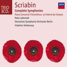 Alexander Scriabin (1872-1915): Symphonien Nr.1-3, 3 CDs