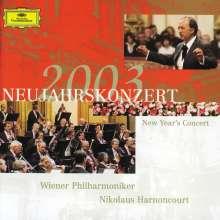 Das Neujahrskonzert Wien 2003, 2 CDs